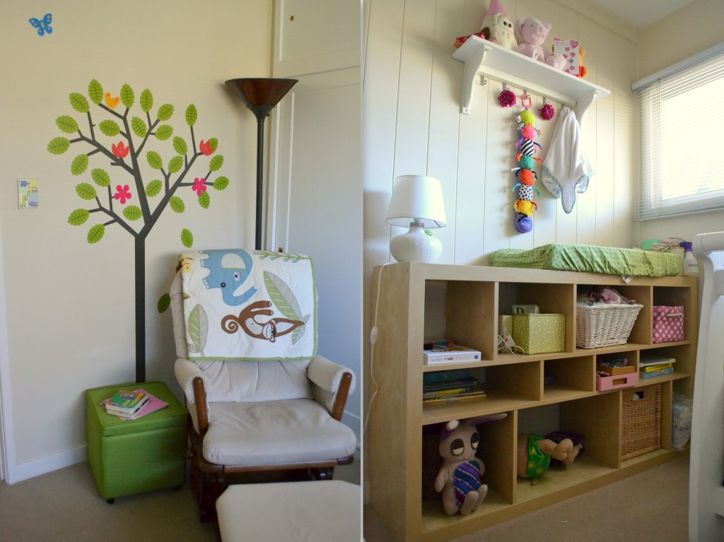 A nursery for a small space a growing home a nursery for a small space - Baby room ideas small spaces property ...
