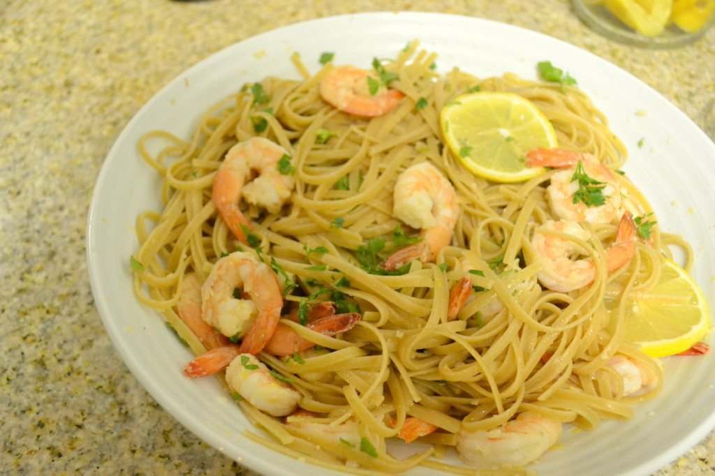 Linguine with Shrimp Scampi | A Growing Home Linguine with Shrimp ...